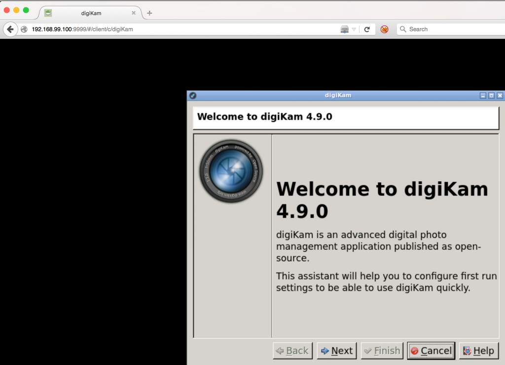 Digikam on Mac OS X or how to use Docker to run a graphical app on