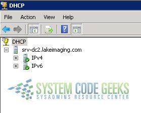 Backup & Restore DHCP Server Database Information   System Code